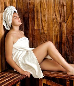 Ferienwohnung mit Sauna